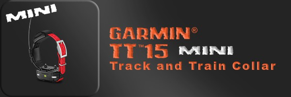 Garmin� TT�15 mini Track and Train Collar